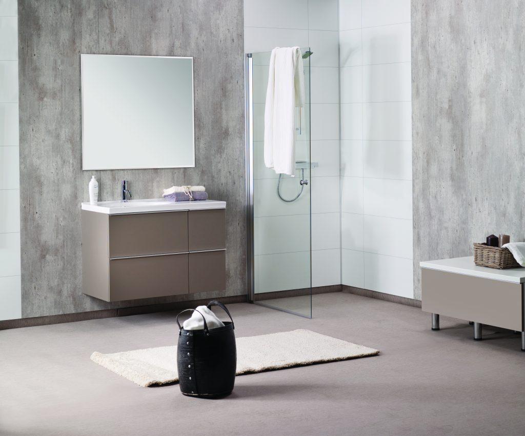 Douchewand Zonder Voegen : Badkamerrenovatie vermanen verbouw en onderhoudsbedrijf